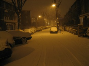 The road I used to live on, Ealing.