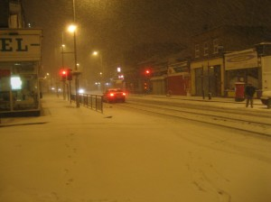 The main road in West Ealing.