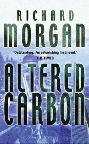 Altered Carbon cover courtesy of Amazon